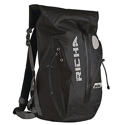 Richa H20 30L 100% Waterproof Backpack Rucksack Dry Bag Black Motorbike/Cycle