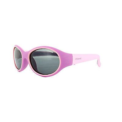 Polaroid Kids Sunglasses 8002/S T49 Y2 Purple Pink Grey Polarized