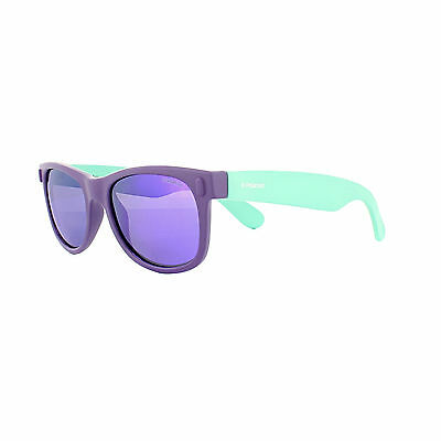 Polaroid Kids Sunglasses P0115 RHD MF Purple & Turquiose Violet Mirror Polarized