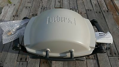 Weber Baby Q outdoor BBQ grill