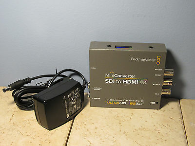 Blackmagic Design Miniconverter - SDI to HDMI 4K - with power cable!!