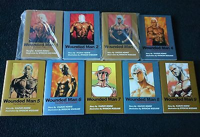 Wounded Man manga graphic novels Vol 1-9