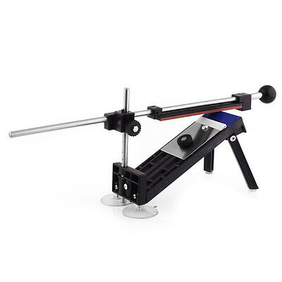 Knife sharpener kit system with fixed angle 4 stones D9T3