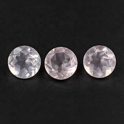 Natural Rose Quartz Faceted Cut Round 3mm to 15mm Top Quality Loose Gemstone