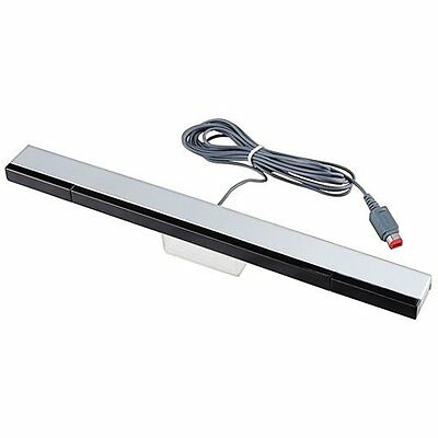 Wired Infrared Sensor Bar For Nintendo Wii Includes Stand