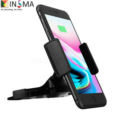 CD Slot Mobile Phone Holder In Car Universal Stand Cradle Mount for GPS Samsung