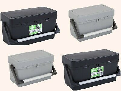Wham Heavy Duty Strong Large Plastic Tool Storage Caddy Box Carry Handle & Tray
