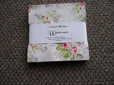 Moda Windermere Charm Pack 100% cotton by Brenda Riddle Designs