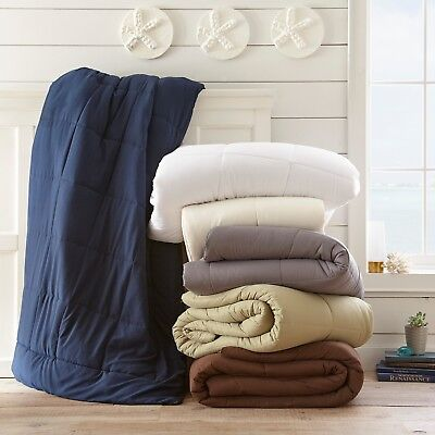 Simply Soft Lightweight Summer Down Alternative Comforter - 6 Colors
