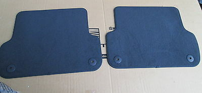 New Genuine Seat Exeo Rear Black Carpet Mats Pair 3R00616259Am  Rrp £40.00