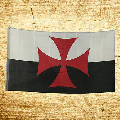 New 3x5 Feet Knights Templar Legend Flag Indoor Outdoor Polyester Fashion Game