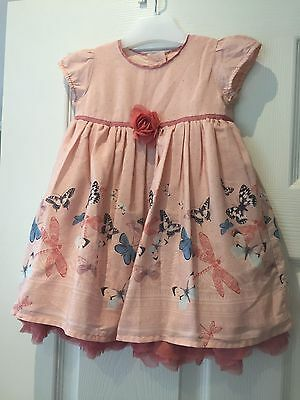 Marks & Spencer M&S girls summer occasion dress size 6 - 9 months