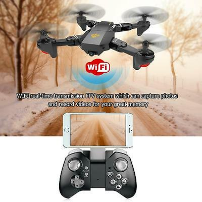 VISUO XS809HW Wifi Quadcopter 120° FOV Angle 2MP HD Camera Foldable 2.4G 6-Axis