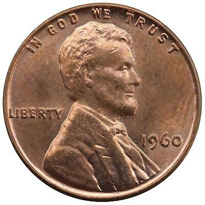 1960 Lincoln Memorial Cent Small Date Uncirculated Penny US Coin