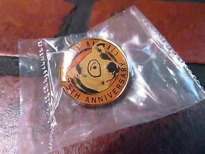 "Little Rascals 75th Anniversary PETE THE PUP Button PROMO 1"" Pin NEW"