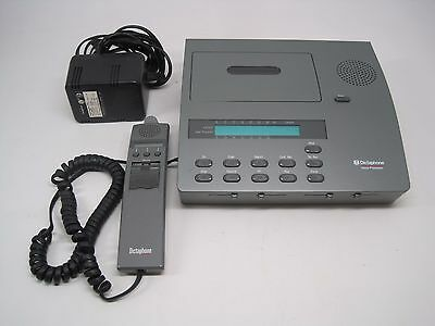 Dictaphone ExpressWriter Plus 2750 Voice Processor AC Power Supply & Microphone