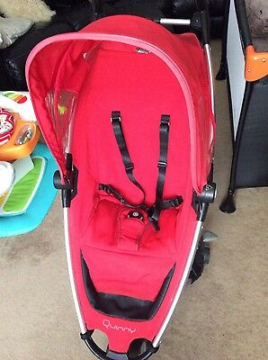 quinny zapp seat fabric and hood only