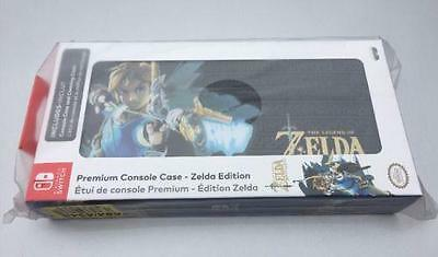 Official Zelda Breath Of The Wild Nintendo Switch Premium Console Carry Case NEW