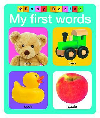 My First Words by Roger Priddy (Board book, 2011)