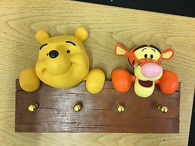 Ultra Rare Disney Winnie The Pooh & Tigger Clothes Hanger New In Box - One Only