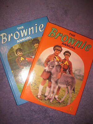 BROWNIE annuals (2) great condition