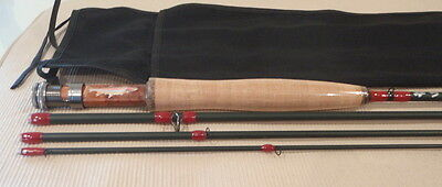 New! Fly Rod Custom Built By Seller Im8 Graphite 5Wt',9'  4Pc Matt  Green