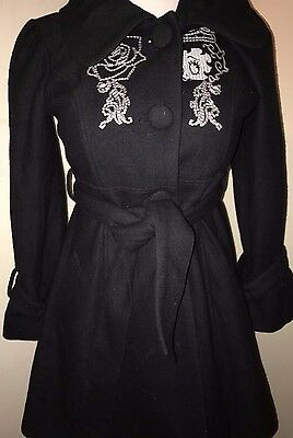 Betty Boop  Black Vintage Jacket/Coat