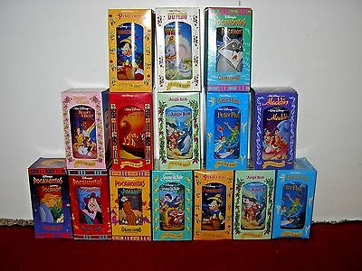 Walt Disney Classic Collection Burger King Cups Lot Of 15