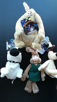 Mcfarelane Wallace & Gromit Curse of the Were Rabbit Mini Plush collection