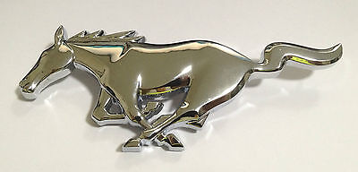 Ford Mustang Running Horse Grille Grill Emblem Badges Name Tags