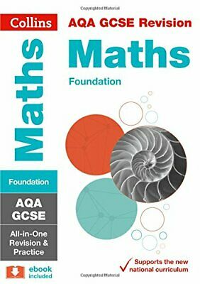 AQA GCSE 9-1 Maths Foundation All-in-One Revision and Practic... by Collins GCSE