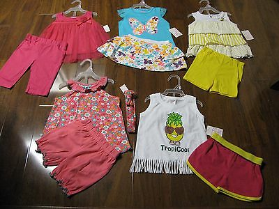 New 10 Pc Lot Newborn Baby Girl Clothes 18 Months 18M Spring Summer Outfits Sets