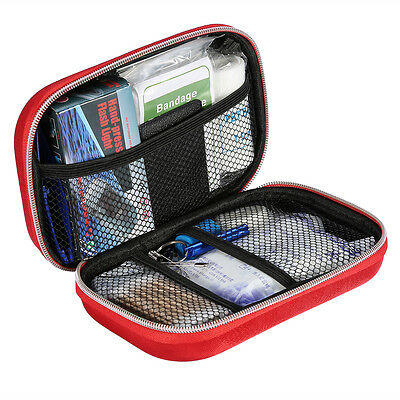 Outdoor First Aid Kit Medical Bag Pouch Treatment Case Survival Emergency Rescue