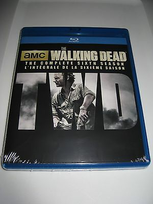 THE WALKING DEAD The Complete Sixth Season 6 (Blu Ray Disc Set) Brand New