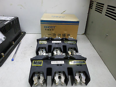 CHCCT -- 250amp 3 Phase  BUSBAR CONNECTION KITS - Qty of 2 - HCZ6-B-3-250A