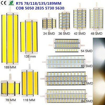 Dimmable R7S SMD/COB J78/J118 78mm 118mm LED Corn Bulb Flood Light Lamp 10W-30W