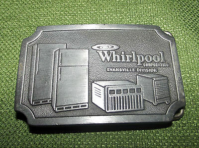 Vintage Belt Buckle Whirlpool Corp Appliances Evansville, Indiana Division 1970s