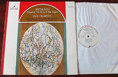 Beethoven Quartet 13 Op 130 Lp Yale Vanguard Vcs 10096 Nm England (1972)