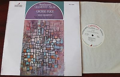 Beethoven Quartet 16/gross Fuge Lp Yale Vanguard Vcs 10097 Nm England (1972)