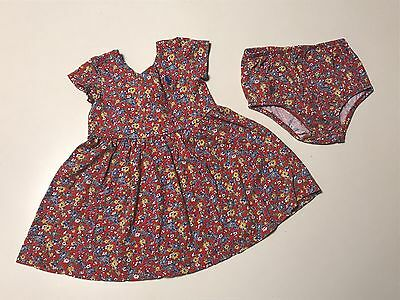 Ralph Lauren Baby Dress And Bloomers Size 0-1 12 Months