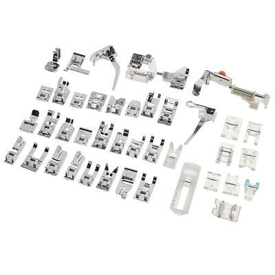 42pcs Domestic Sewing Machine Presser Foot Feet Kit Set For Brother Singer