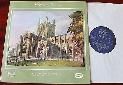 Hereford Cathedral Choir Quires & Places 6 Lp Lloyd Abbey Lpb 696 Ex- Treble