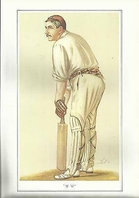 Vanity Fair CRICKET print - MR. WALTER WILLIAM READ