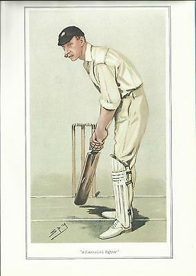 Vanity Fair CRICKET print - THE HON. FRANK STANLEY JACKSON, BA