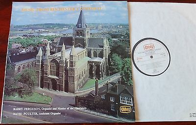 Music From Rochester Cathedral Lp Ferguson Abbey Apr 302 Nm (1979)