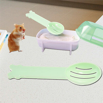 Pet Hamster Gerbil Rat Bathroom Bath Sand Shovel Hamster Toy Toilet Random Color