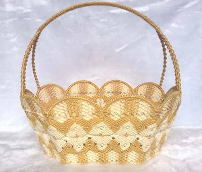 Handmade Basket 1 Piece Beautiful Color With Thai Culture