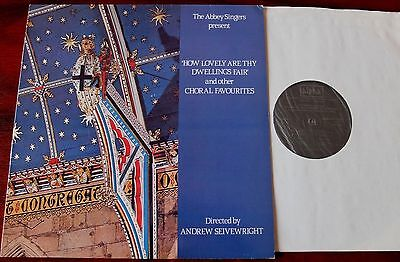 The Abbey Singers Choral Favourites Lp Seivewright Alpha Aca 528 Nm (1984)