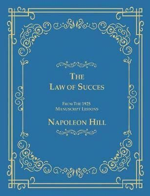 The Law of Success From The 1925 Manuscript Lessons by Napoleon Hill (English) P