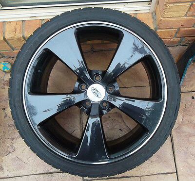 Ford Falcon FG XR G6E 1 X 19 inch aftermarket dark argent wheel and good tyre